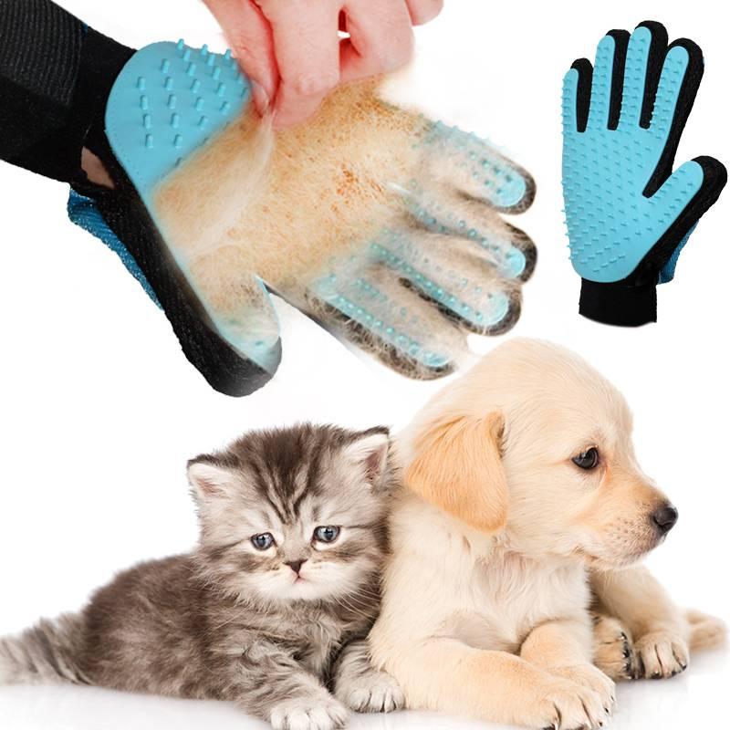 Перчатка для расчеcки шерсти животных в Дербенте