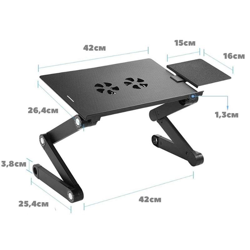 Складной столик трансформер для ноутбука multifunctional женское белье с пером