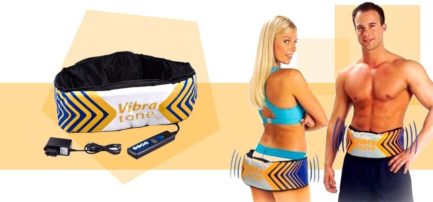 пояс для похудения Vibra Tone массажный
